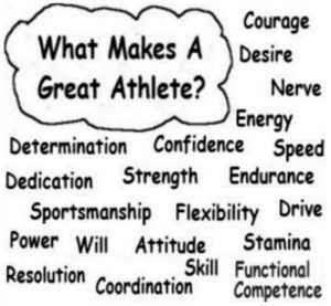 What makes a Great Athlete?