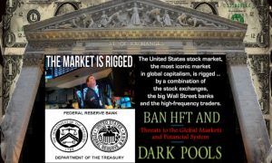 The Markets are rigged.