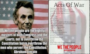 We The People are the rightful masters of both Congress and the Courts.